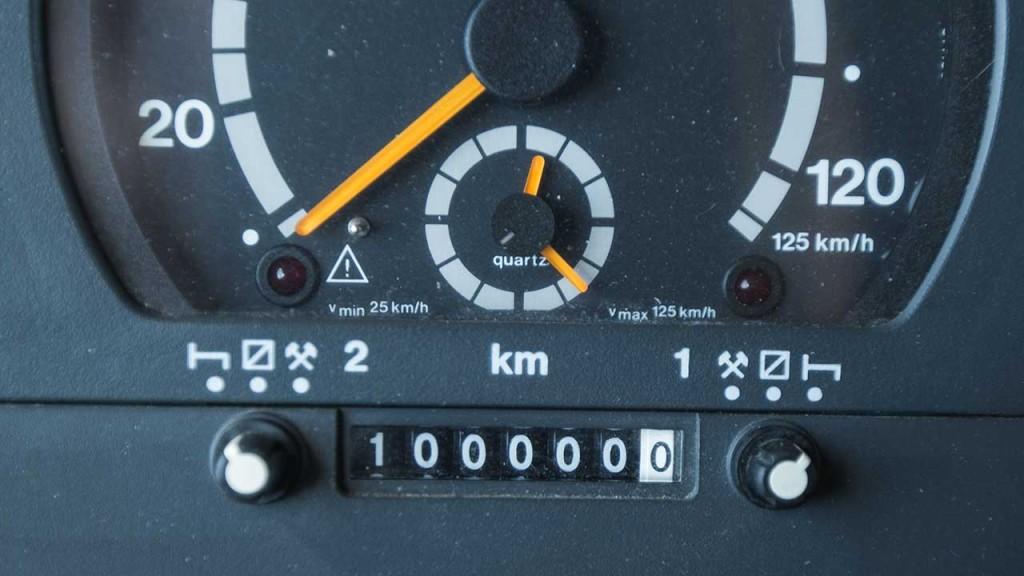 100'000 km – Unser Dude läuft wie ein Schweizer Uhrwerk.